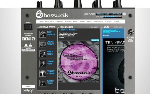 basswalk 2010 wed design miami